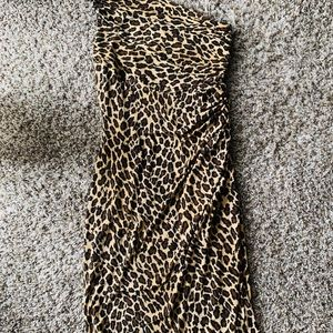 Ralph Lauren cheetah dress